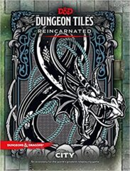 Dungeons and Dragons 5th Edition Dungeon Tiles City